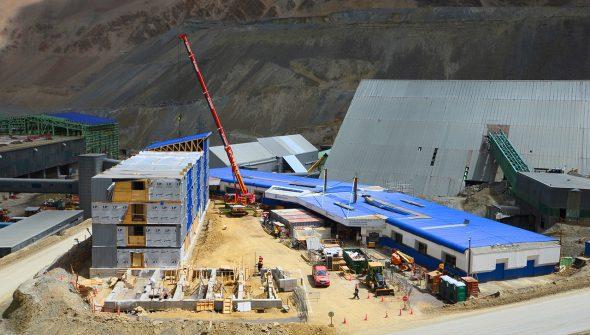 ASAP Montaje Nuevo Edificio Refugio Los Bronces