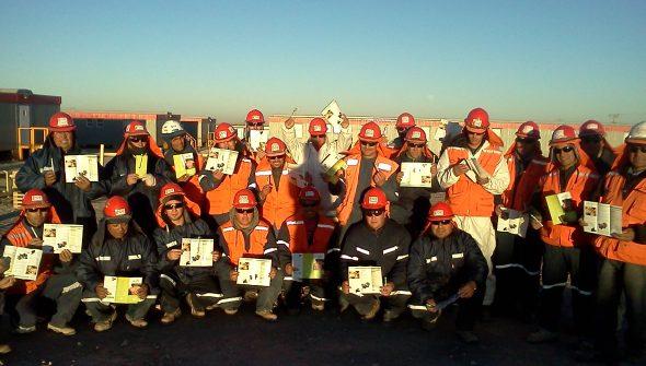 ASAP Campaña Cuidado de Manos en Minera Esperanza