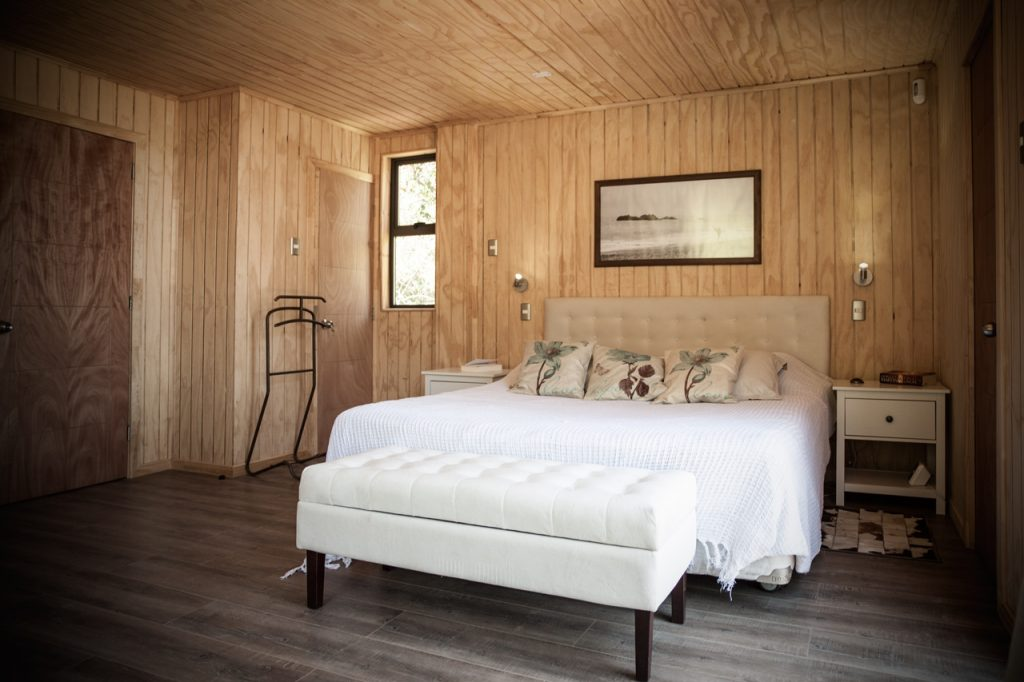 dormitorio casa modular chile